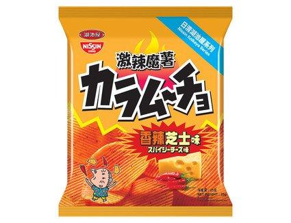 Nissin Koikeya Foods Karamucho Hot Chilli Cheese Flavour